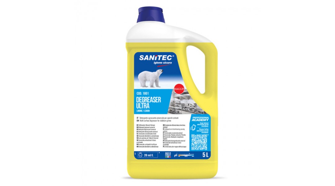 DEGREASER ULTRA LIMONE 5L...
